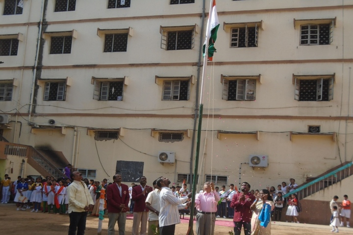 Shri Hanuman Vyayam Shala Public School-Independence Day Celebrations