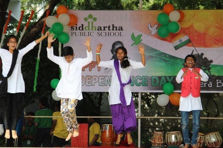 Siddhartha Public School-Independence Day Celebrations
