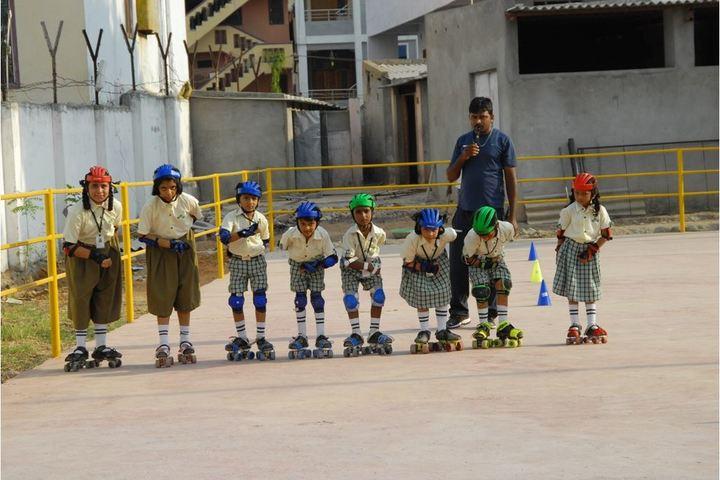Siddhartha Public School-Skating