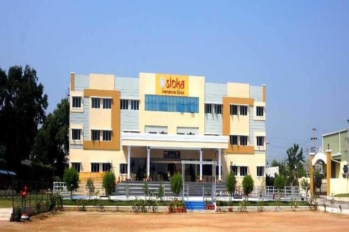 Sloka International School-School Building