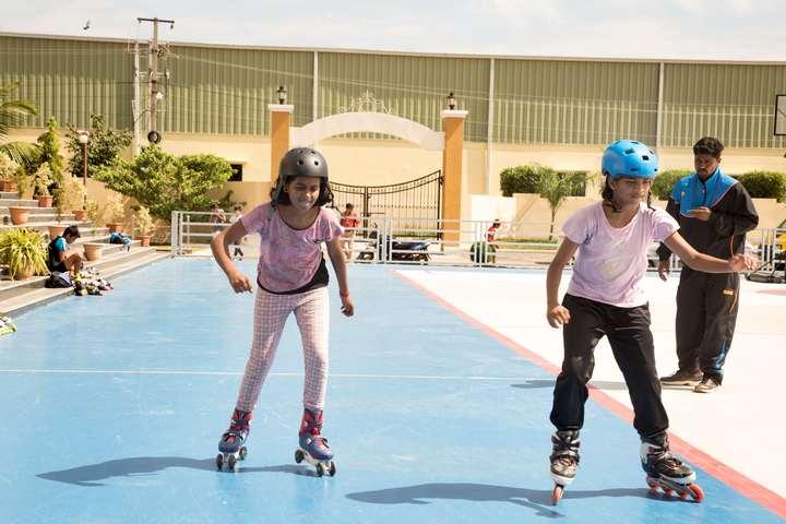 Sloka International School-Skating