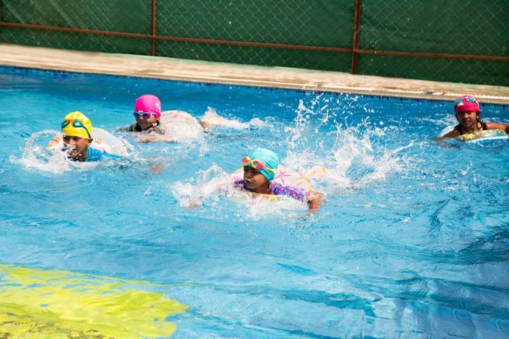 Sloka International School-Swimming Pool