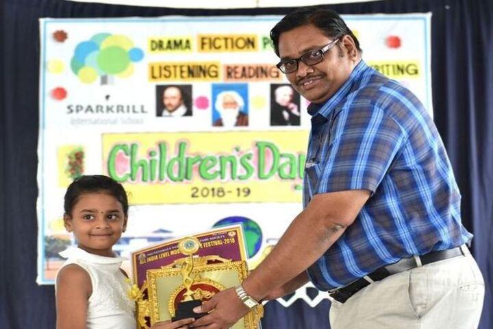 Sparkrill International School-Childrens Day