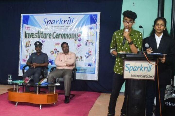 Sparkrill International School-Investiture Ceremony