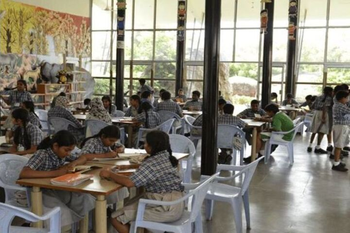 Sparkrill International School-Library