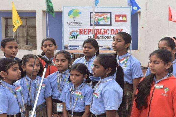 Sparkrill International School-Republic Day Celebration