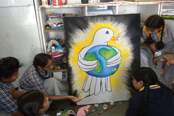 Sparkrill International School-Art Room