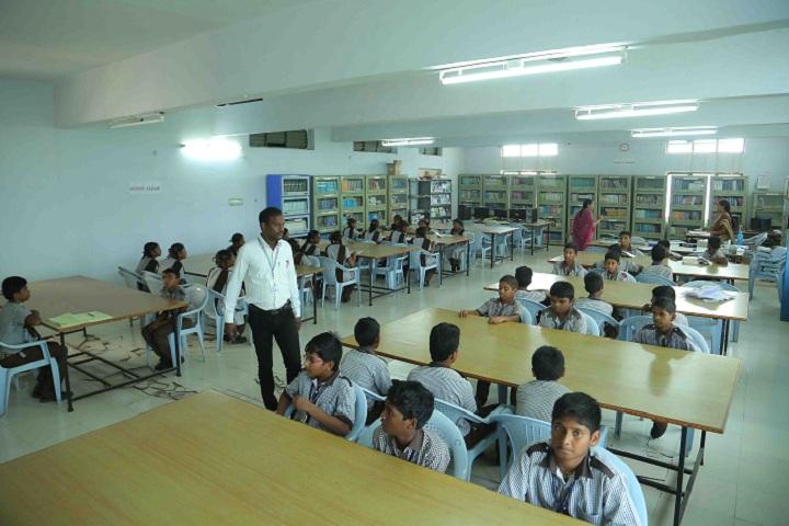 Sree Vidyanikethan High School-Library