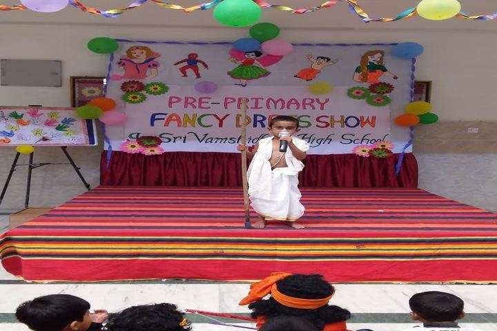 Sri Vamshidhar High School-Fancy Dress Compitition