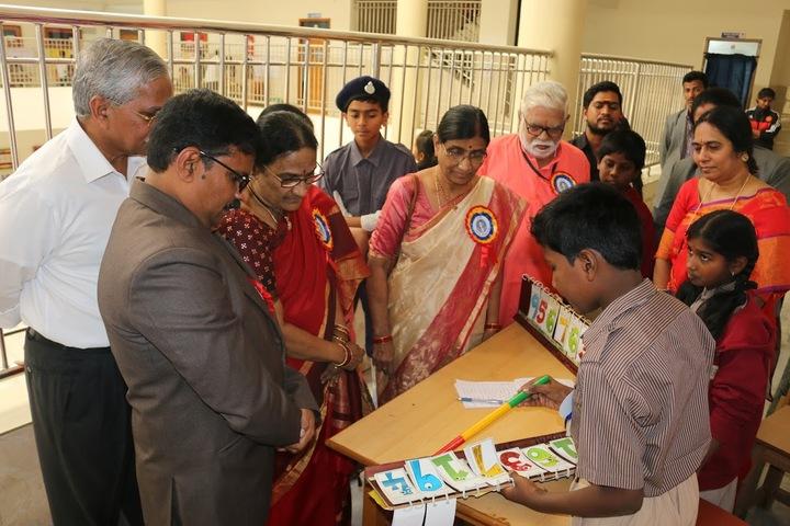 Sri Vamshidhar High School-Maths Fair