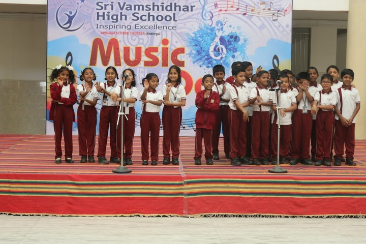 Sri Vamshidhar High School-Music