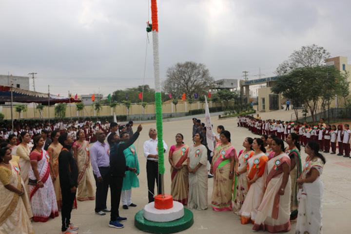 Sri Vamshidhar High School-Republic Day Celebartions