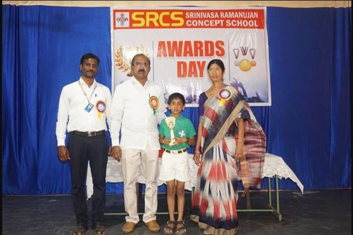 Srinivasa Ramanujan High School-Awards Day