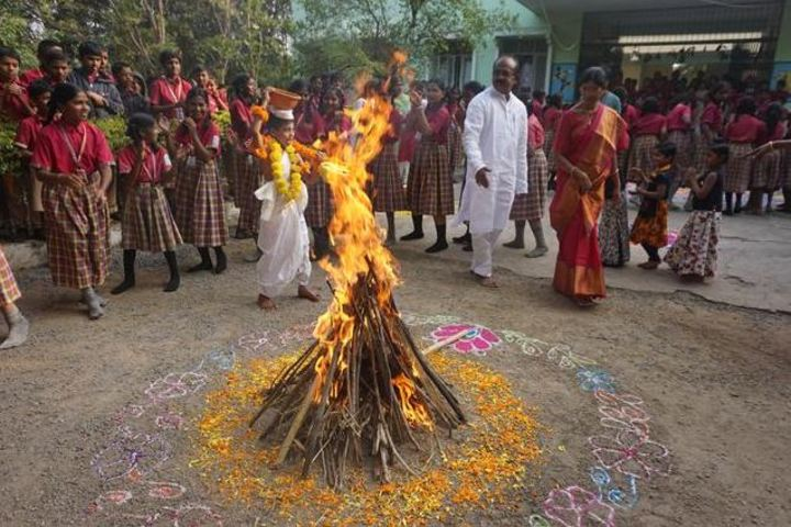 Srinivasa Ramanujan High School-Festival Celebrations