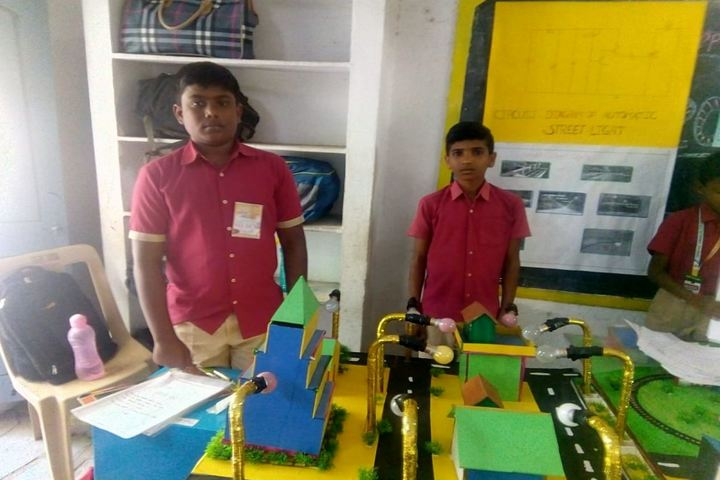 Srinivasa Ramanujan High School-Science Fair