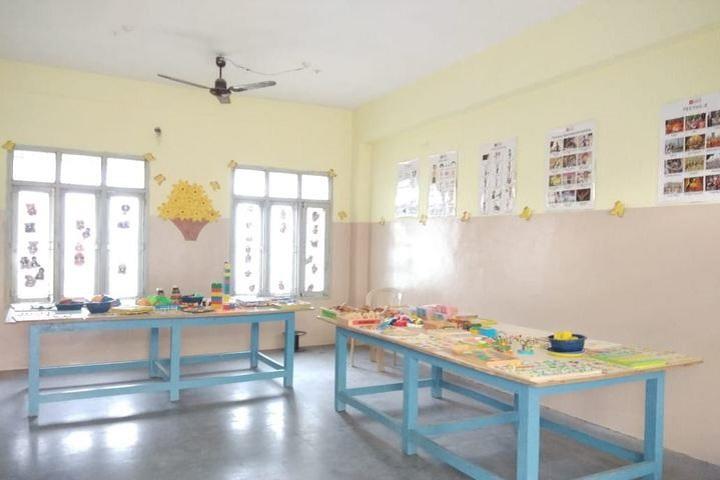 Srinivasa Ramanujan High School-Kindergarden Activity Room