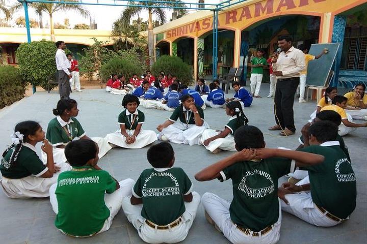 Srinivasa Ramanujan High School-Quiz