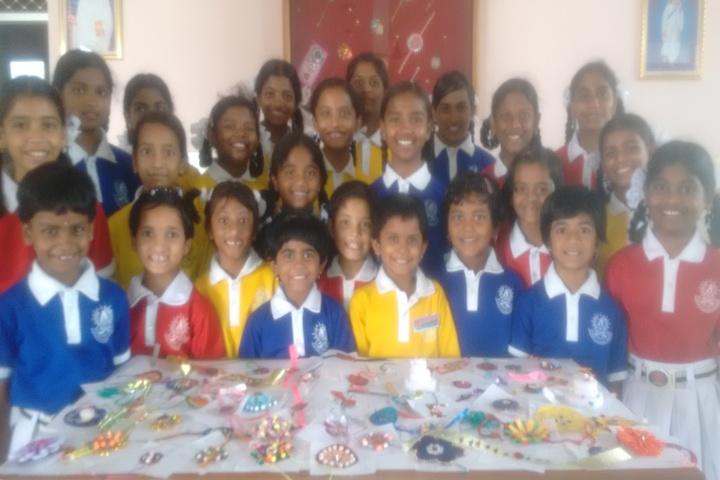 St Elizabeth Convent E M High School-Rakhi Celebrations