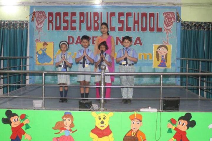 Rose Public School-Singing