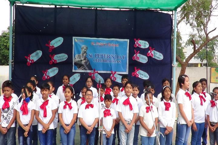 St Peter S High School-School Day