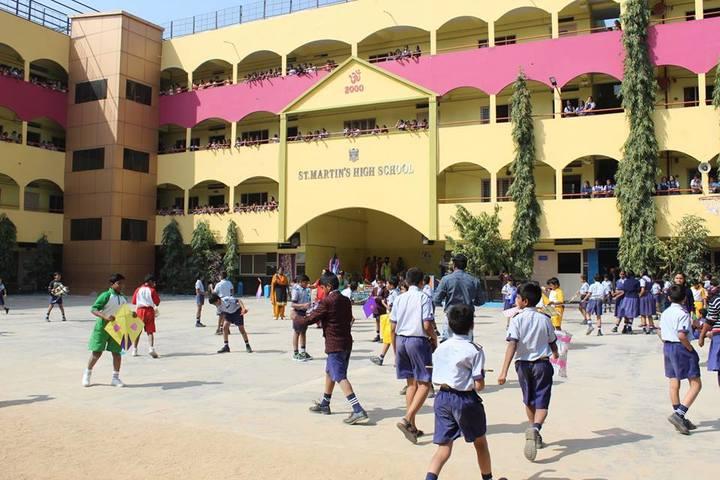 St Martins High School-Games