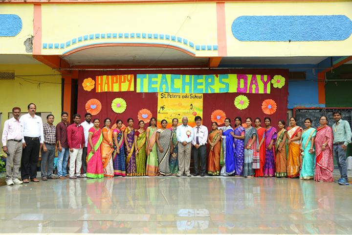 St Peters Edu School-Teachers Day Celebrations