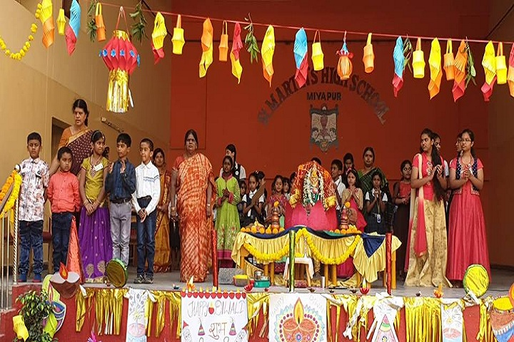 St Martins High School-Diwali-Celebrations