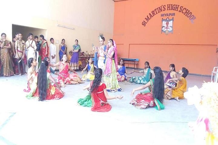 St Martins High School-Janmashtami