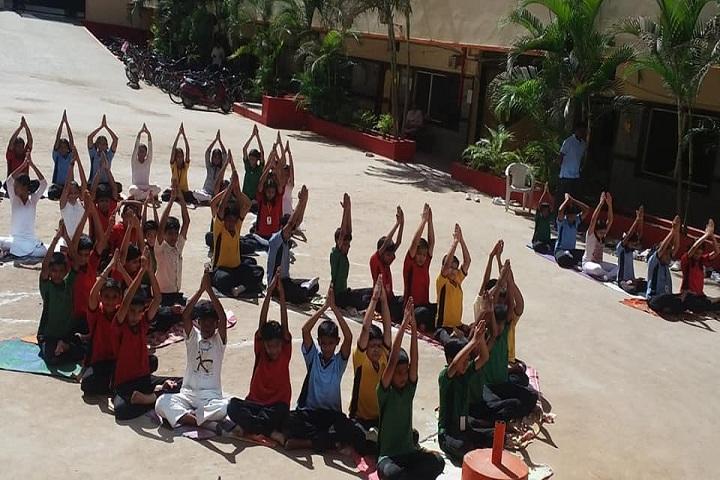 St Martins High School-Yoga-Day