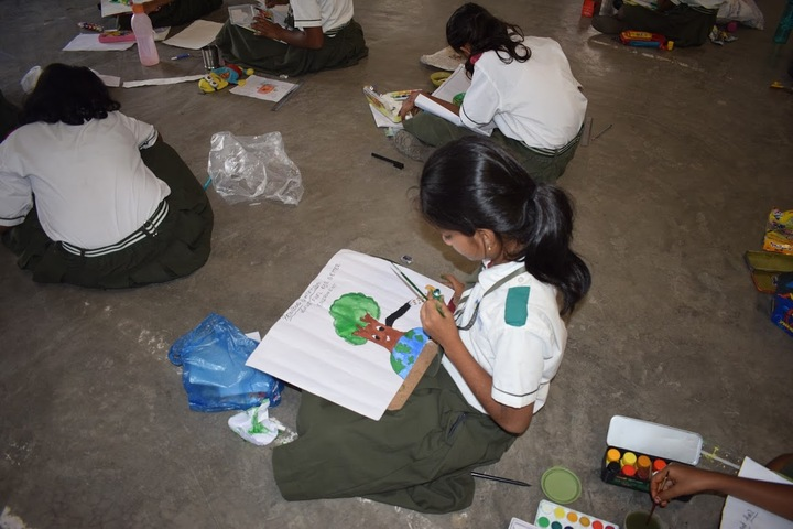 Suprabhat Model High School-Drawing Competition