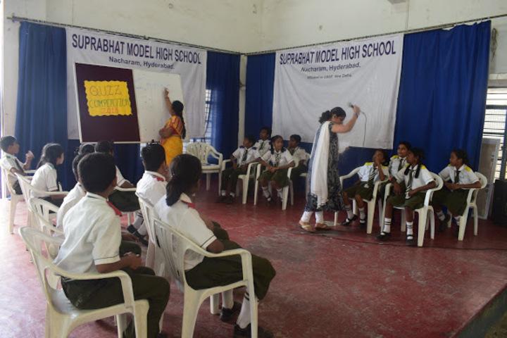 Suprabhat Model High School-Quiz Competition