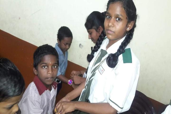 Suprabhat Model High School-Rakhi Celebrations