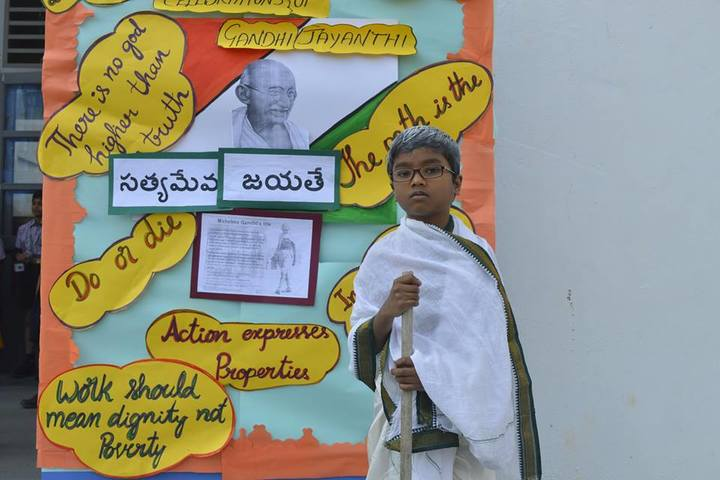 Surya The Global School-Gandhi Jayanthi Celebrations