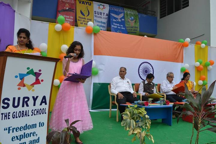 Surya The Global School-Independence Day Celebrations