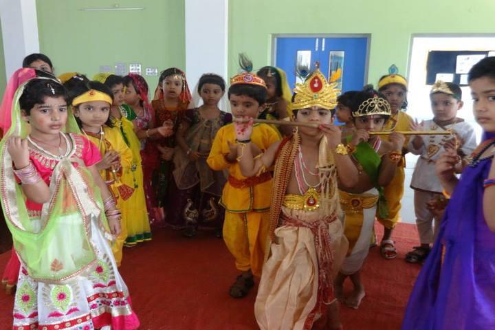Surya The Global School-Krishnastami Celebrations