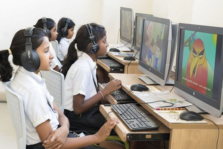 The Gaudium School-Computer Lab