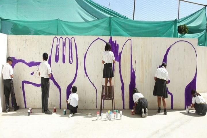 The Gaudium School-Painting