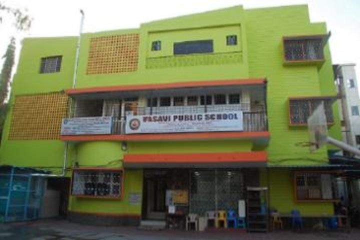 Vasavi Public School-Campus View