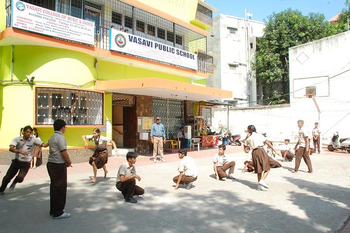 Vasavi Public School-Sports