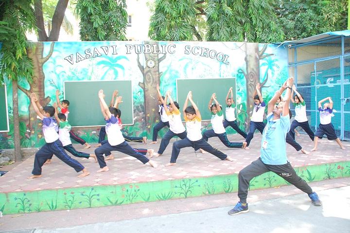 Vasavi Public School-Yoga