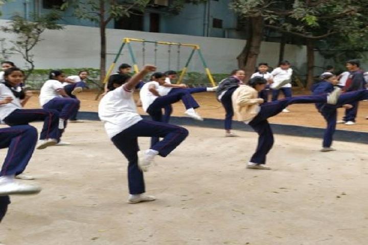 Vidya Vinayalaya School-Outdoor Games