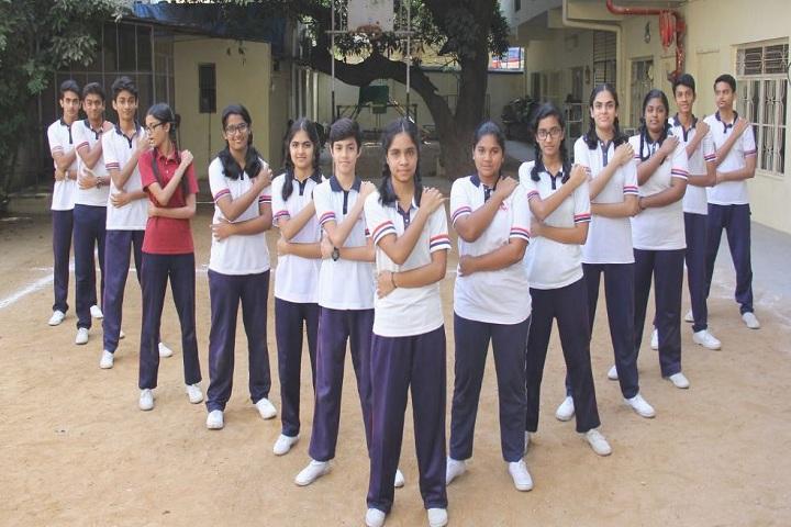Vidya Vinayalaya School-Sport Students