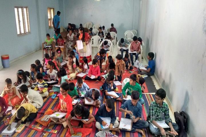 Vidyanjali Grammar School-Colouring Competition