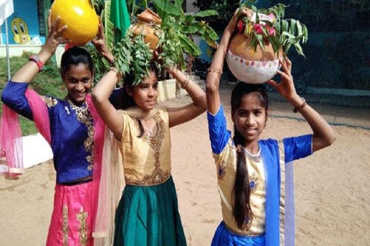 Vidyanjali Grammar School-Bonalu Fest