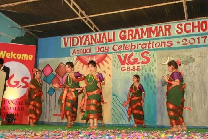 Vidyanjali Grammar School-Cultural Dance