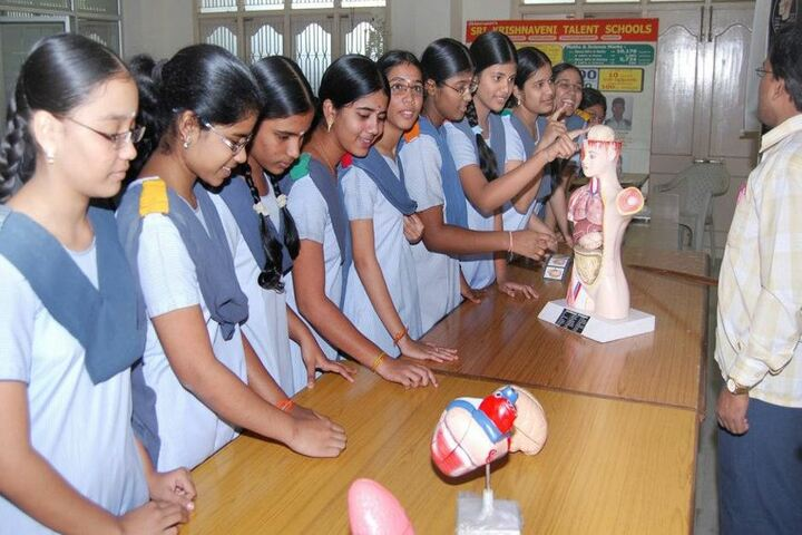 Chigurupati Sri Krishnaveni School-Biology Lab