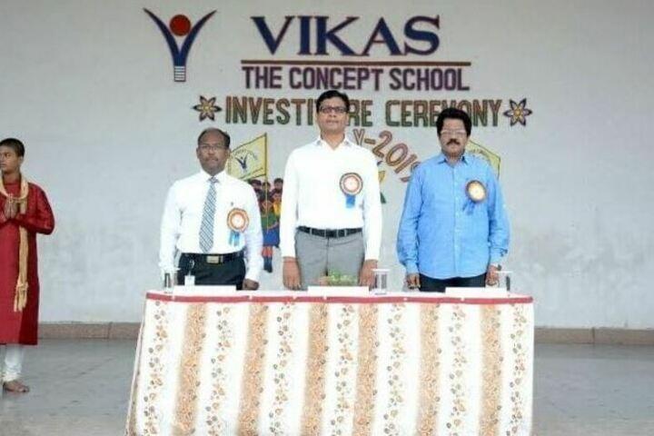Vikas The Concept School-Investiture Ceremony
