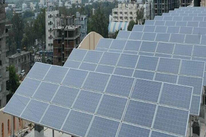Vikas The Concept School-Solar Power