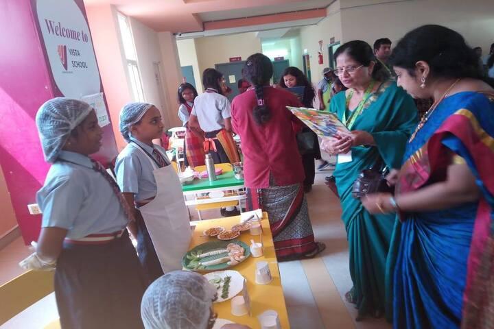 Vista School-Cooking Activity