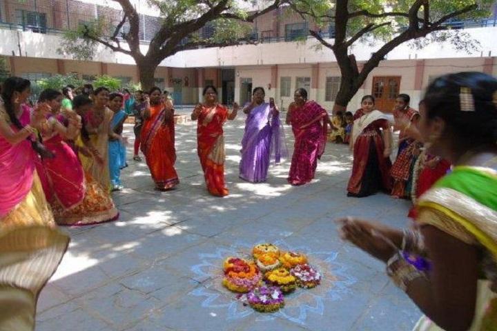 Warangal Public School-Bathukamma Fest